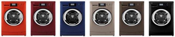 Bunte Waschmaschinen vom Hersteller Beko