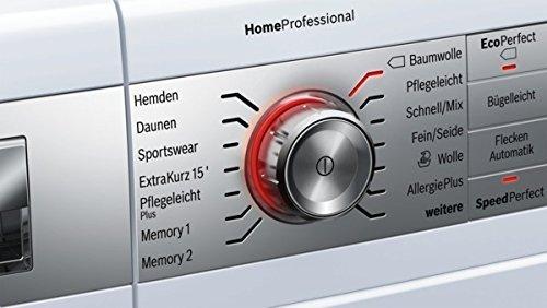 Bosch Waschmaschine innovativer Bedienfeld