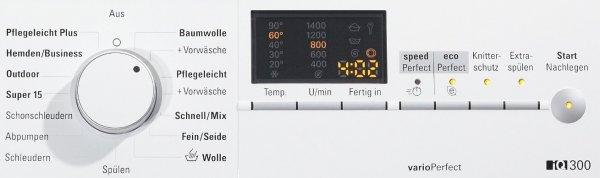 Siemens iQ300 WM14E425 Bedienfeld