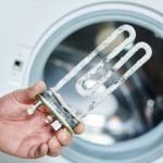 Waschmaschine Heizstab ist verkalkt